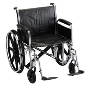 Nova Medical Products Steel Wheelchair 22""