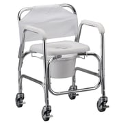 Nova Medical Products Shower Chair & Commode with Wheels
