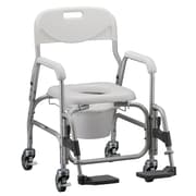 "Nova Medical Products Deluxe Shower Chair and Commode 36"" x 25"""
