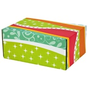 "06.2""(L)X 3.7""(W)X9.5""(H) GPP Gift Shipping Box, Classic Line, Funky Pattern, 6/Pack"