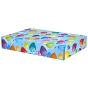 12.2(L)x 3(W)x17.8(H) GPP Gift Shipping Box, Classic Line, Colorful Balloons, 48/Pack