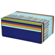 06.2(L)X 3.7(W)X9.5(H) GPP Gift Shipping Box, Classic Line, Birthday Candles, 24/Pack