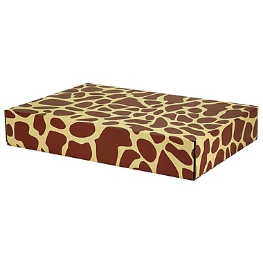 GPP Gift Shipping Box, Classic Line, Giraffe Print