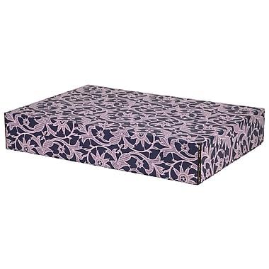 GPP Gift Shipping Box, Classic Line, Purple Lace