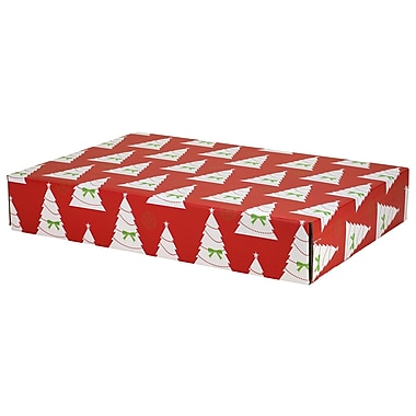 GPP Gift Shipping Box, Holiday Line, Christmas Trees