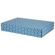 GPP Gift Shipping Box, Lisa Line, Teal Circles