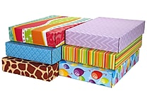 GPP Gift Shipping Box, Classic Line, Assorted Styles