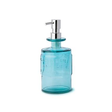 WS Bath Collections Saon Glass Soap Dispenser; Blue