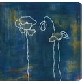 Gallery Direct Spring Silhouettes I by Laura Gunn Painting Print Canvas; 24'' H x 24'' W