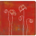 Gallery Direct Spring Silhouettes III by Laura Gunn Painting Print Canvas; 24'' H x 24'' W