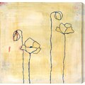Gallery Direct Spring Silhouettes II by Laura Gunn Painting Print Canvas; 24'' H x 24'' W