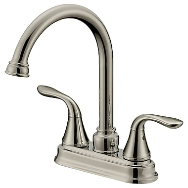 LessCare Double Handle Long Neck Bathroom Faucet