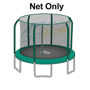 SKYBOUND 15' Round Trampoline Net Using 6 Pole