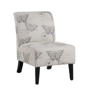 Linon Butterfly Lily Side Chair