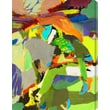 Gallery Direct ''Abstract Figure I'' by M. Drake Painting Print Canvas; 16'' H x 12'' W