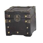 Quickway Imports Assorted Colors Mini Chest; Black