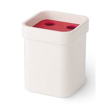 WS Bath Collections Curva Toothbrush Holder; Red