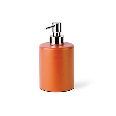 WS Bath Collections Saon Liquid Soap Dispenser; Orange