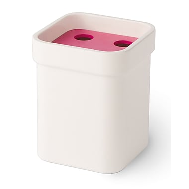 WS Bath Collections Curva Toothbrush Holder; Pink