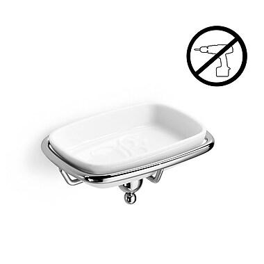 WS Bath Collections Venessia Self-Adhesive Soap Dish