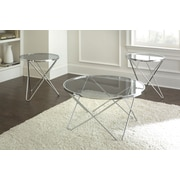 Brady Furniture Industries Hegewish 3 Piece Coffee Table Set