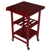 Oasis Concepts Kitchen Cart; Cherry