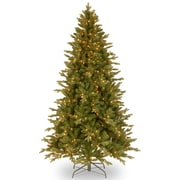National Tree Co. Avalon 7.5' Green Spruce Artificial Christmas Tree w/ 500 Clear Lights and Stand