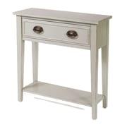 HeatherBrooke End Table; Gray Owl
