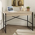 E-Ready Emery Writing Desk with Dropfront Laptop Drawer