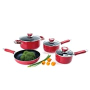 Alpine Cuisine Non Stick Aluminum 4-Piece Cookware Set