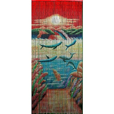 Bamboo54 Playful Dolphin Single Curtain Panel
