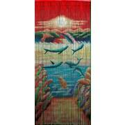 Bamboo54 Playful Dolphin Single Curtain Panel