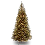 National Tree Co. Aspen Spruce 7' Hinged Artificial Christmas Tree w/ 400 Clear Lights