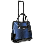 Cabrelli Fashion Executive Laptop Briefcase; Blue