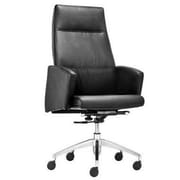 dCOR design Chieftain High Back Office Chair; Black