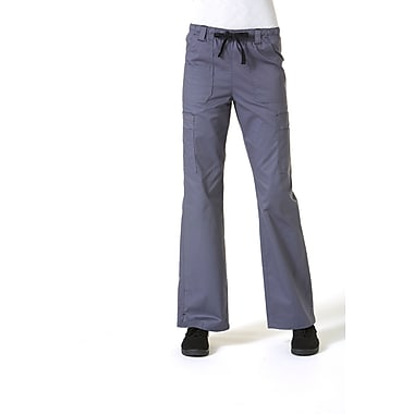 Blossom 9602 Multi-Pocket Utility Cargo Pant, Pewter, Regular 2XL