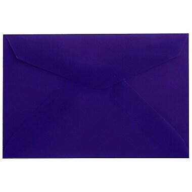 JAM PaperMD – Enveloppes, bleu translucide, 3drug, 2,31 x 3,62 po, 100/paquet