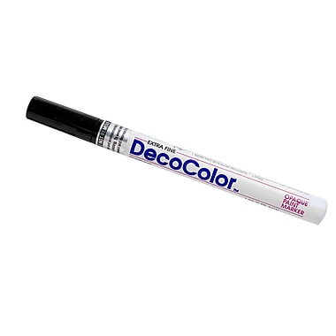 JAM Paper® Fine Point Opaque Paint Marker, Black, Sold Individually (7665886)