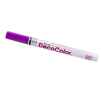 JAM Paper Fine Point Opaque Paint Marker, Hot Purple, Sold Individually (7665896) 1227330