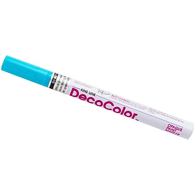 JAM Paper® Fine Line Opaque Paint Markers, Light Blue, Sold Individually (7665897)