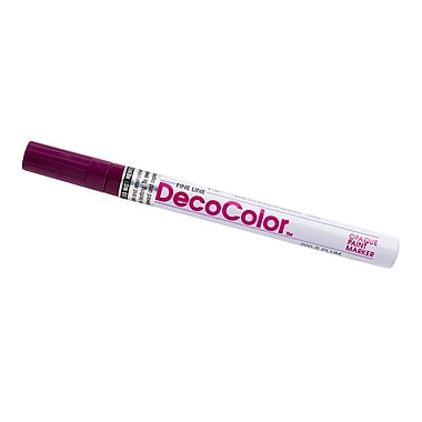JAM Paper® Fine Point Opaque Paint Marker, Plum Purple, Sold Individually (7665905)