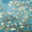 Diamond Decor in.Van Gogh Almond Blossomsin. Stretched Giclee Canvas Art