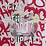 Diamond Decor Sieze The Cupcake Stretched Giclee Canvas