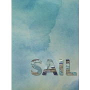 "Diamond Decor ""Sail"" Stretched Giclee Canvas Art"