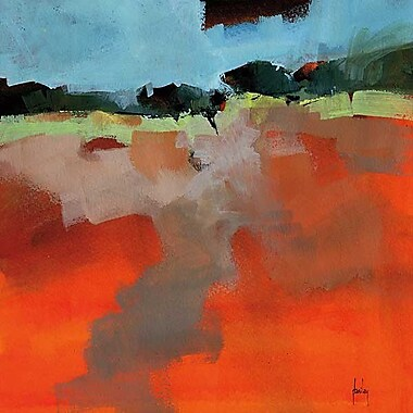 Printfinders Early Fall by Paul Bailey Painting Print on Canvas; 16'' x 16''