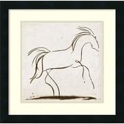 Amanti Art 'Horse II' by Tom Reeves Framed Art Print