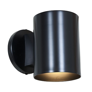 Access Lighting Poseidon 1 Light Outdoor Sconce; Black