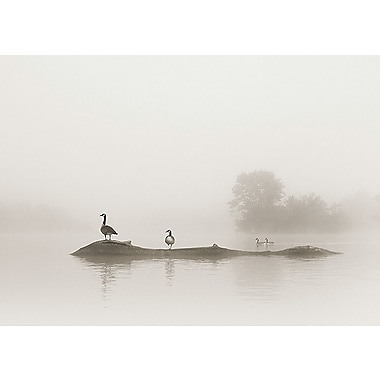 Printfinders Melton Lake by Nicholas Bell Photographic Print on Canvas; 25'' x 35''
