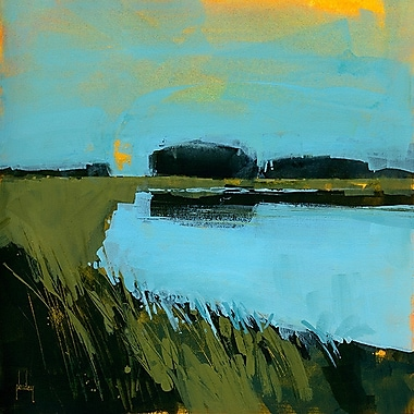 Printfinders Still Waters by Paul Bailey Painting Print on Canvas; 30'' x 30''