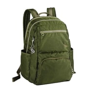 Sumdex Soft Casual Tech-On College Backpack; Rifle Green